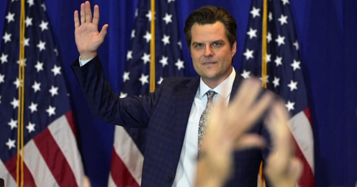Shocking new allegations about how Matt Gaetz used campaign funds