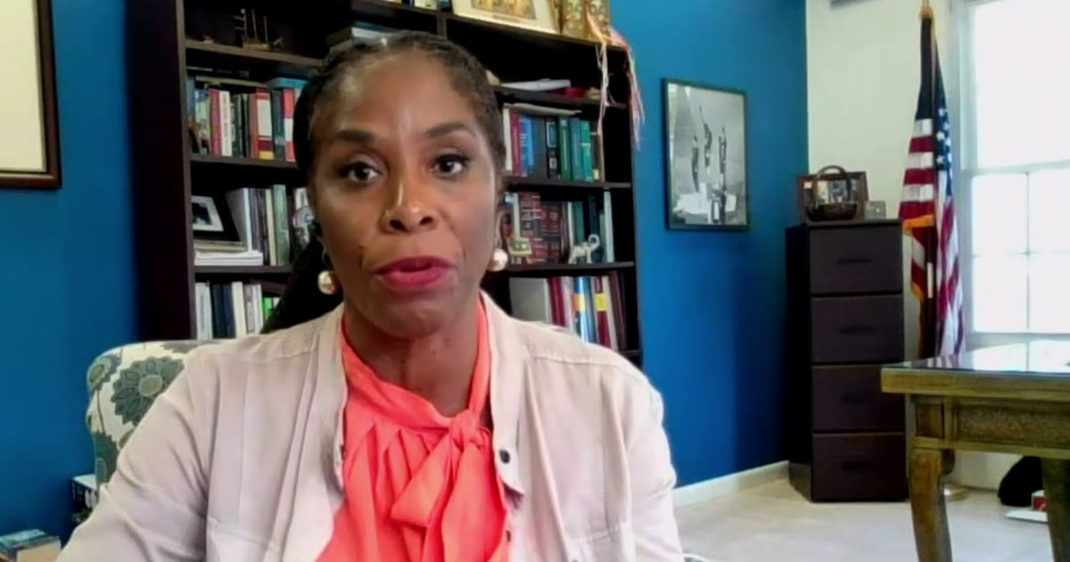 Rep. Stacey Plaskett expects Republicans to take credit for a bill they won't vote for