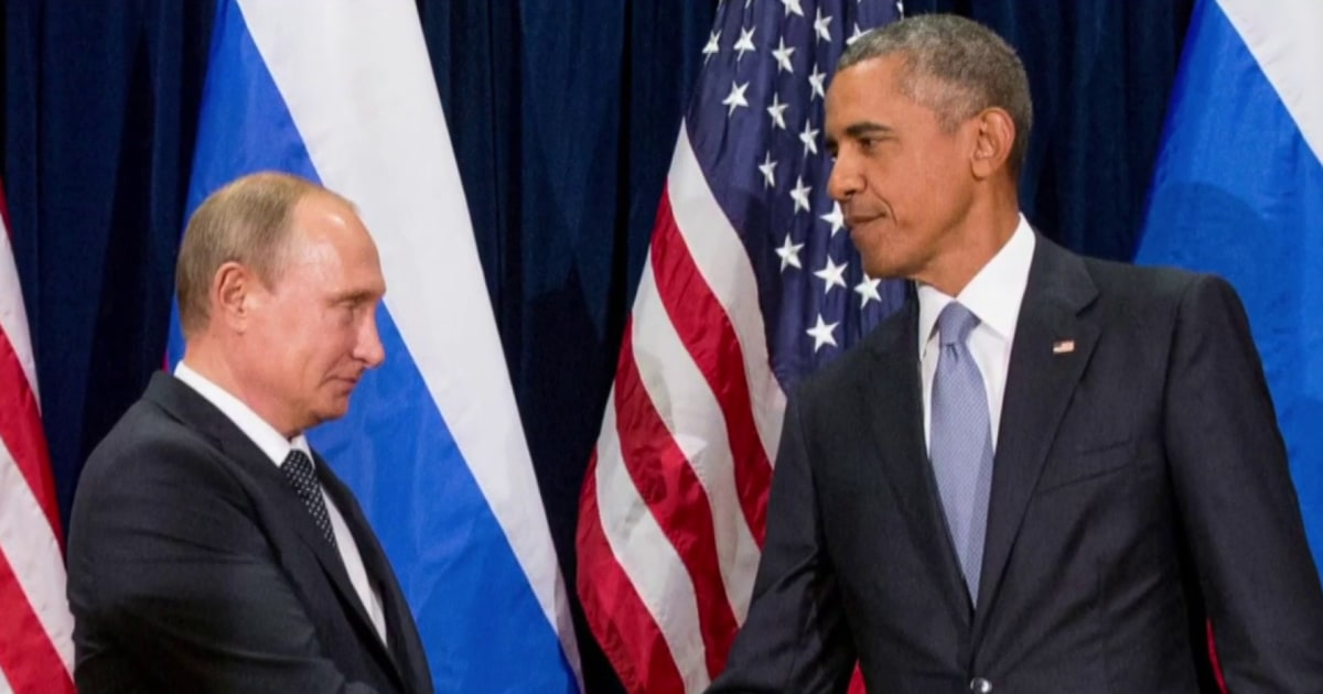 What Fmr. Pres. Obama's final message to Russian Pres. Putin tells us about Pres. Biden's uphill climb
