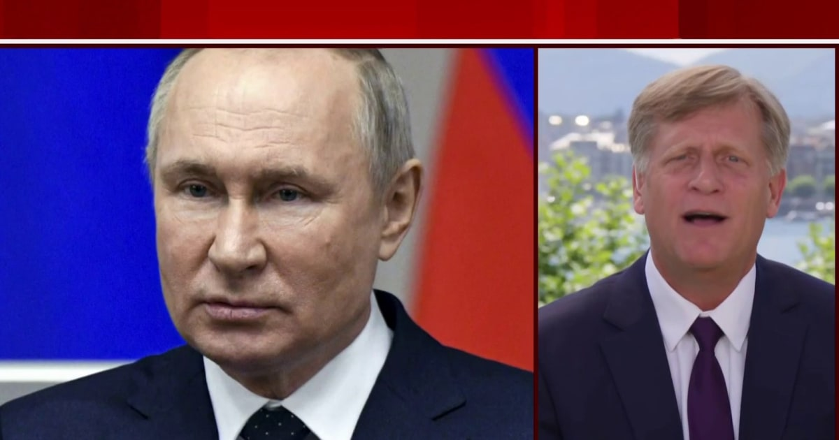 Biden has to engage and contain Putin at the same time, says former ambassador