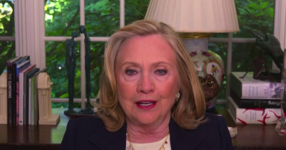 Hillary Clinton: Putin is the great disrupter; he has a clear mission to undermine democracies