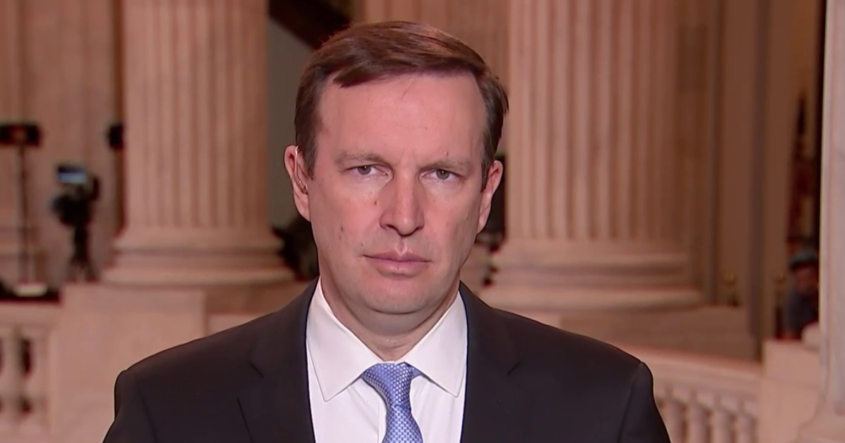 Sen. Murphy: 'When you live in a democracy you have to trust voters'
