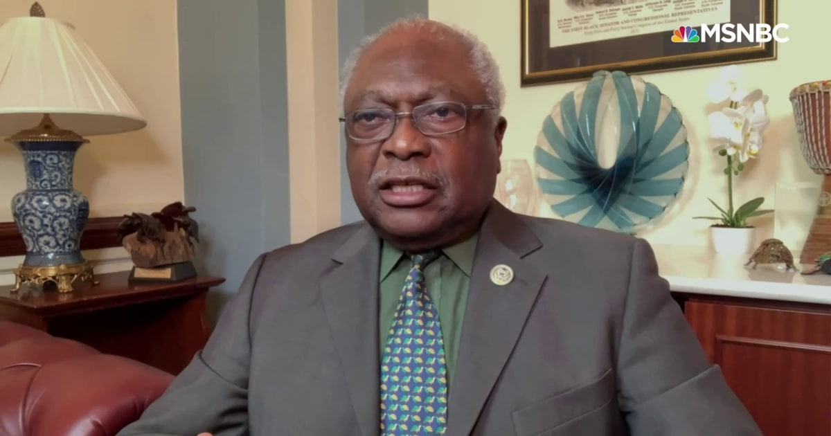 Clyburn on Senate GOP blocking voting rights: This just begins the process