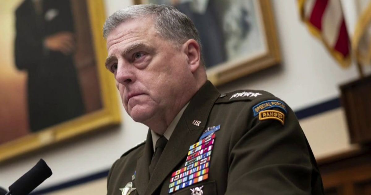 Joint chiefs chair Milley schools Gaetz on Critical Race Theory