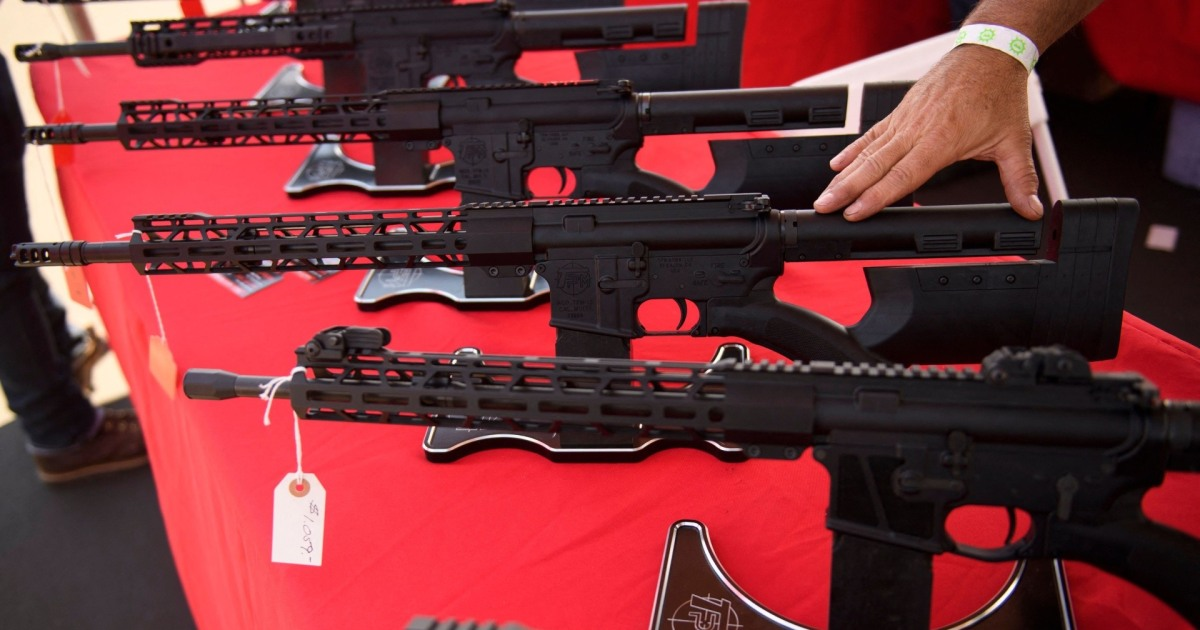Record number of illegal gun sales stopped by background checks last year: FBI records