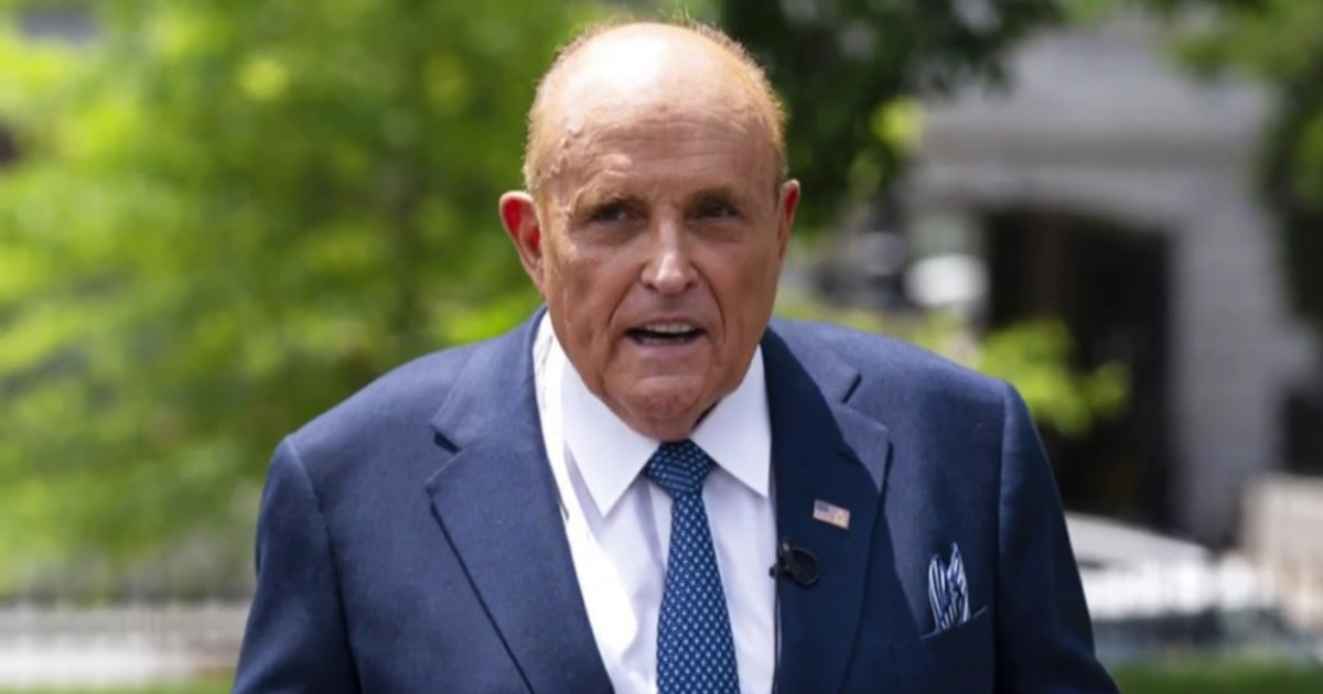 Legal smackdown!: Watch Giuliani complain after law license suspended for election lies