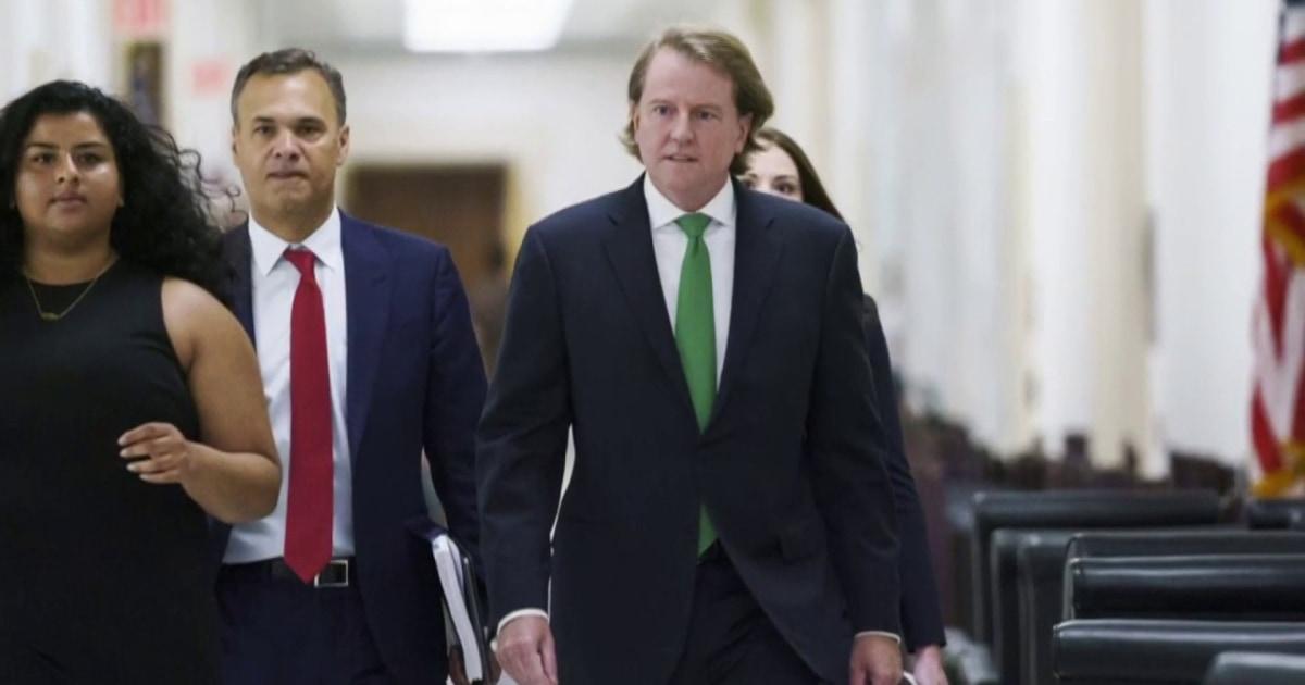 McGahn: Trump's order to have Mueller fired was 'point of no return'