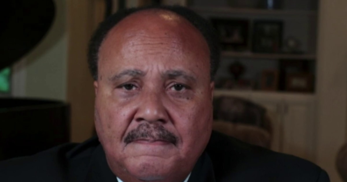 Martin Luther King III: 'It's really sad' we're still marching for voting rights