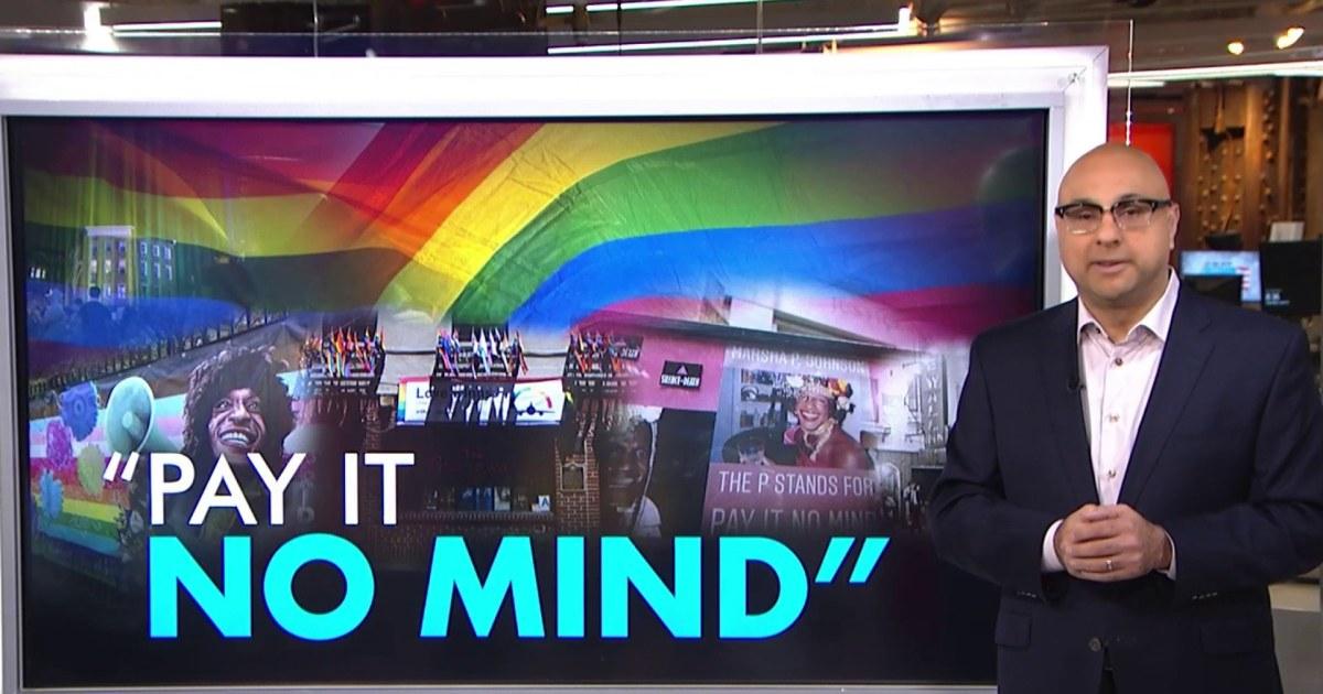 Velshi: Marsha P. Johnson was a LGBTQ+ trailblazer. Her work is not finished