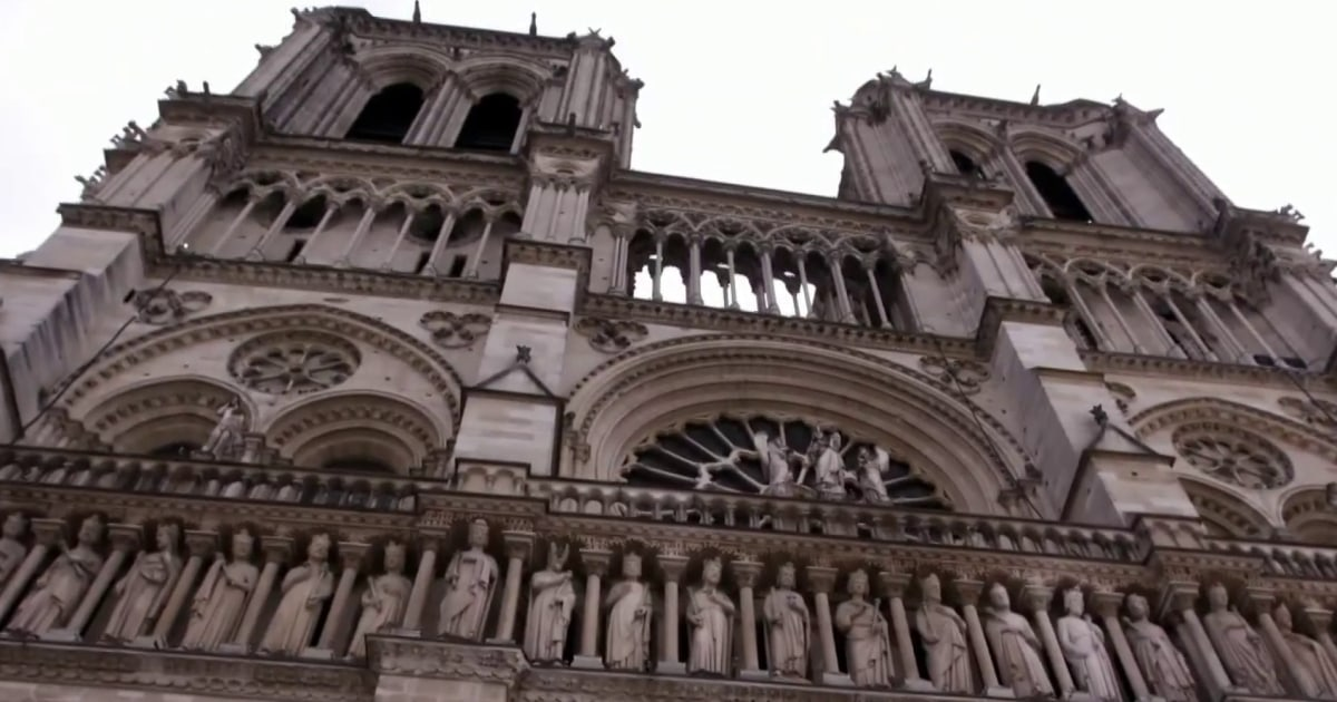 Behind the scenes of the Notre Dame restoration