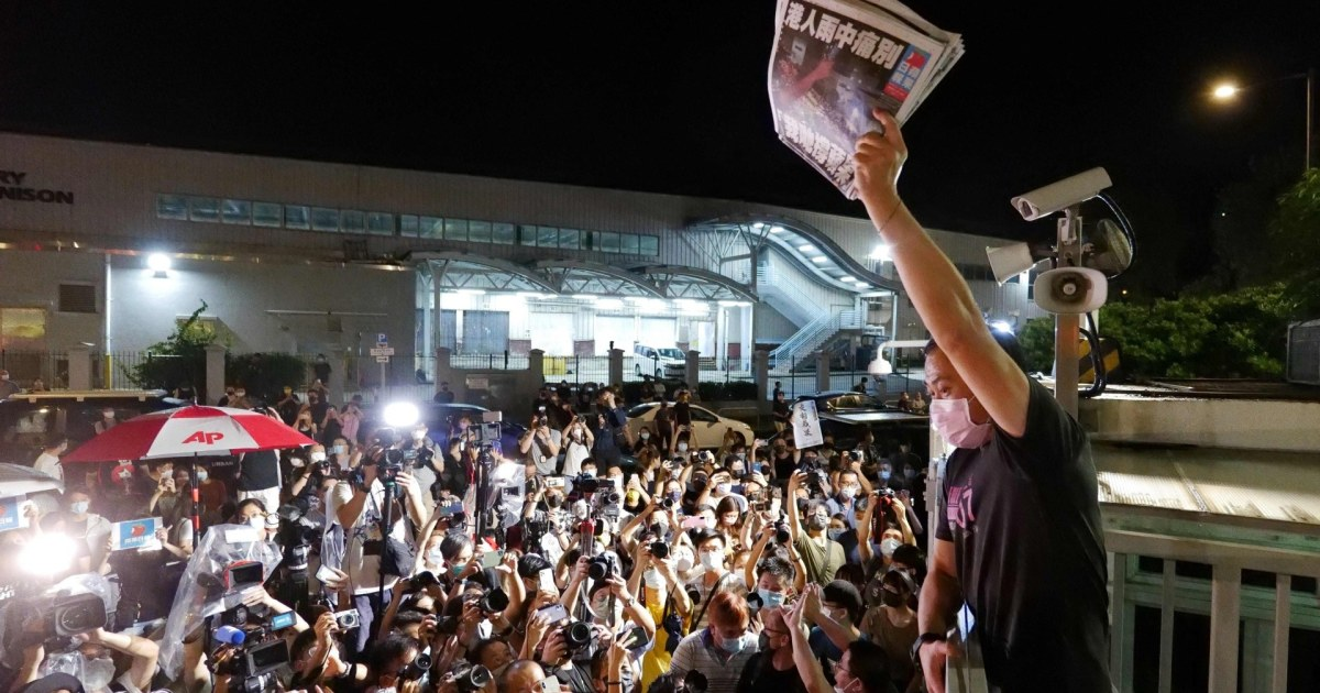U.S. pushes back as China tramples free press in Hong Kong