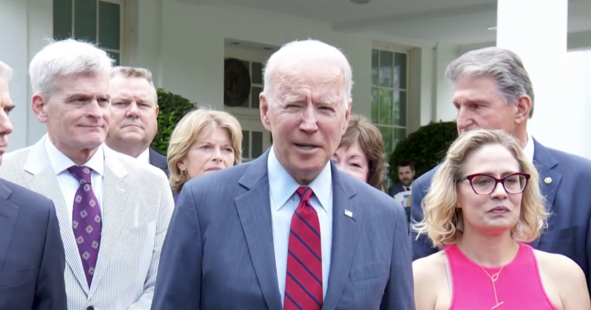 Time is short for Biden to get his infrastructure bill through the Senate