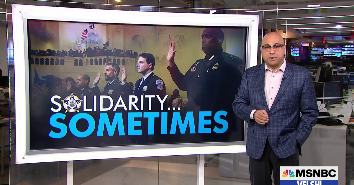 Velshi: We must call out unions that make bad decisions like the Fraternal Order of Police