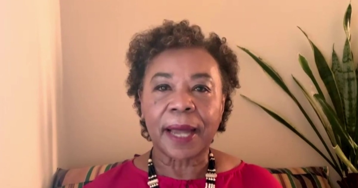 """Police reform talks have stalled, but Rep. Barbara Lee is still """"hopeful and confident that we're going to get something"""""""