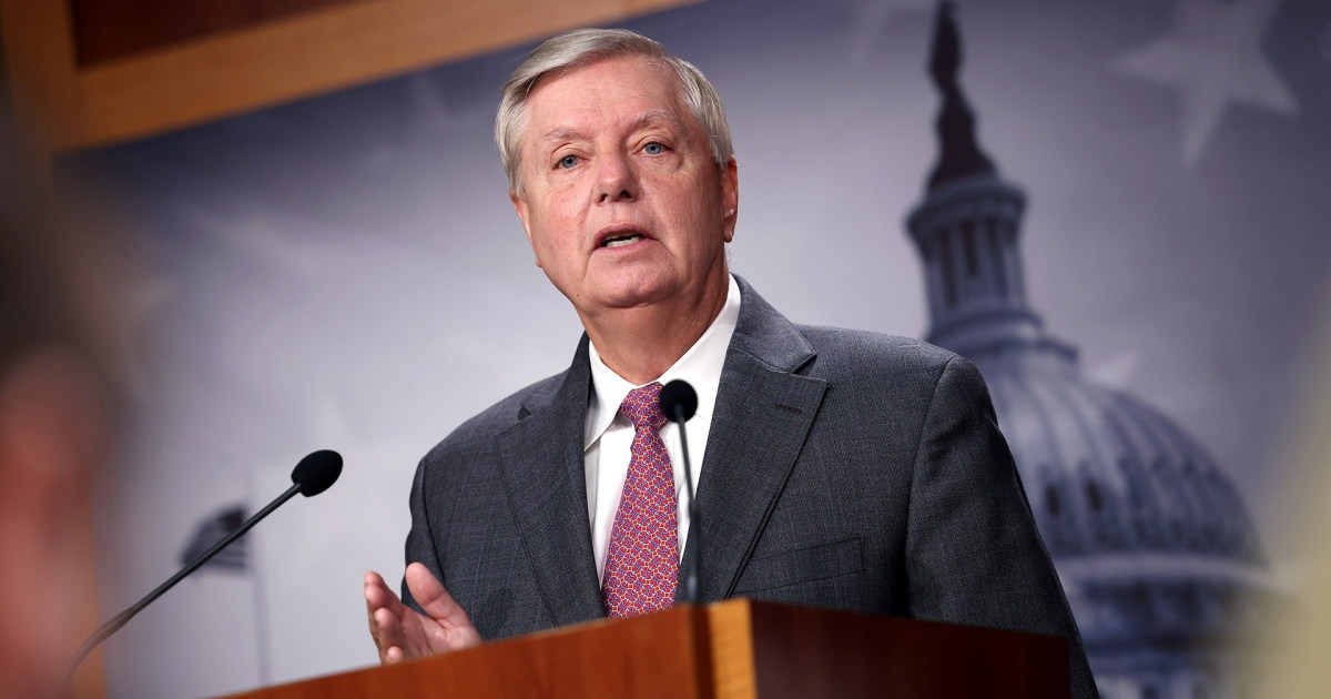 Sen. Lindsey Graham tests positive for Covid after being fully vaccinated