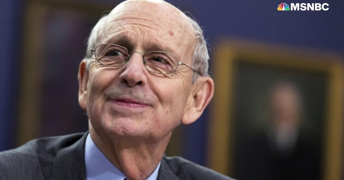Justice Breyer: Supreme Court decision on Texas Abortion
