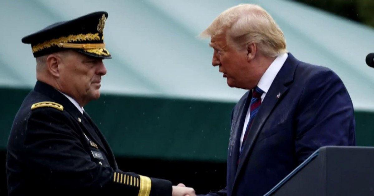 Gen. McCaffrey: If we looked at US from the outside, we'd think Trump was going to 'conduct a coup'