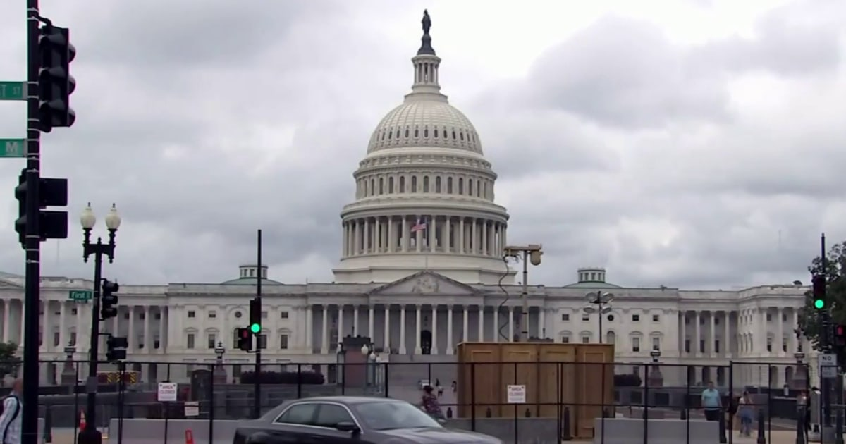 D.C. braces for rally in support of Capitol rioters