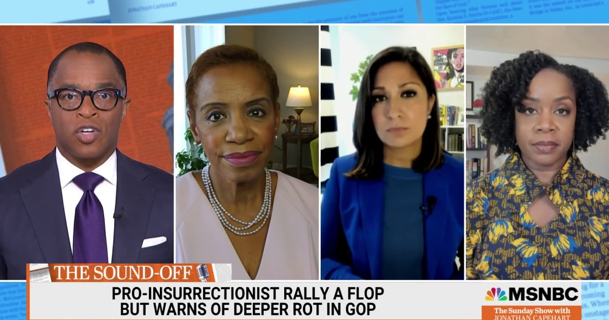 Pro-Insurrectionist rally flopped, but warns of deeper rot in GOP
