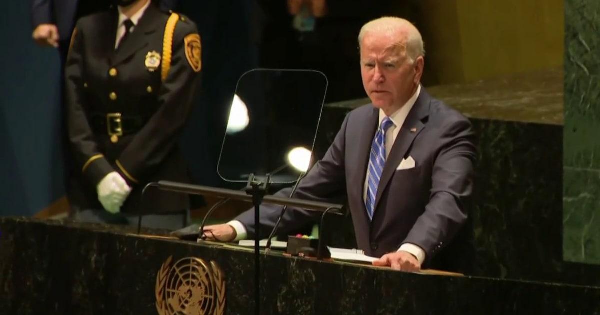 Unlike Trump, 'no one was laughing' at Joe Biden's UN speech