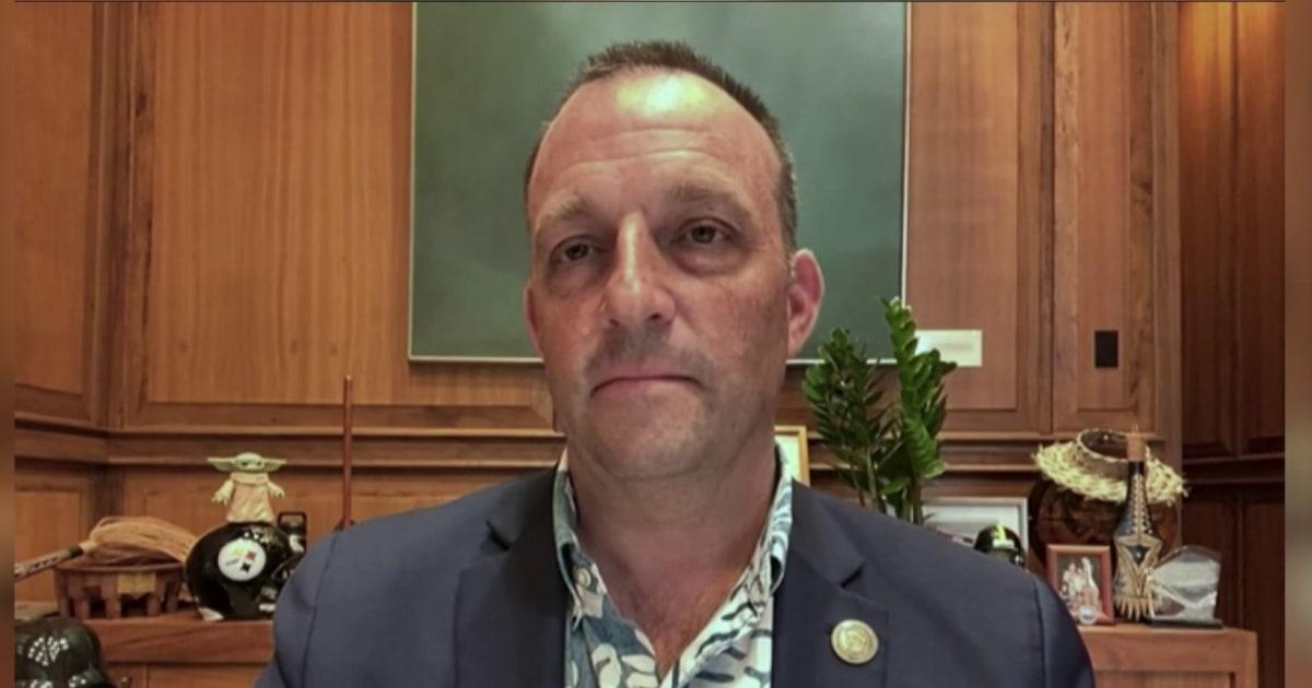 HI Lt. Gov. helps change mind of anti-vaccine leader