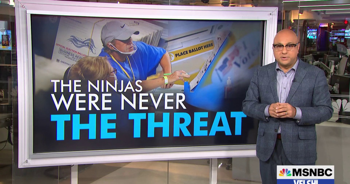 Velshi: The Cyber Ninjas were never the threat. It's what comes next that will keep you up at night.