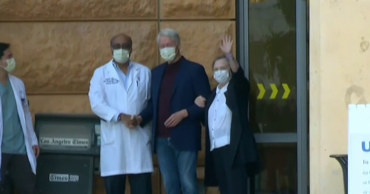 Bill Clinton released from hospital after treated for urological infection