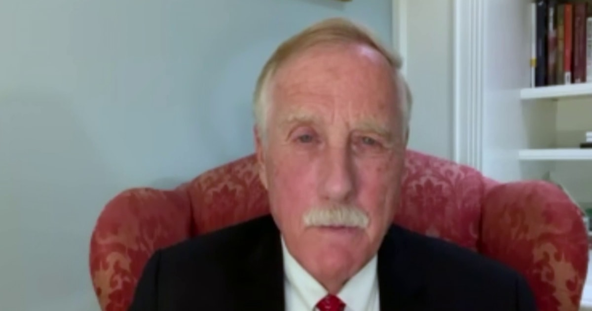 Sen. Angus King on filibuster: 'Democracy itself is more important than any Senate rule'