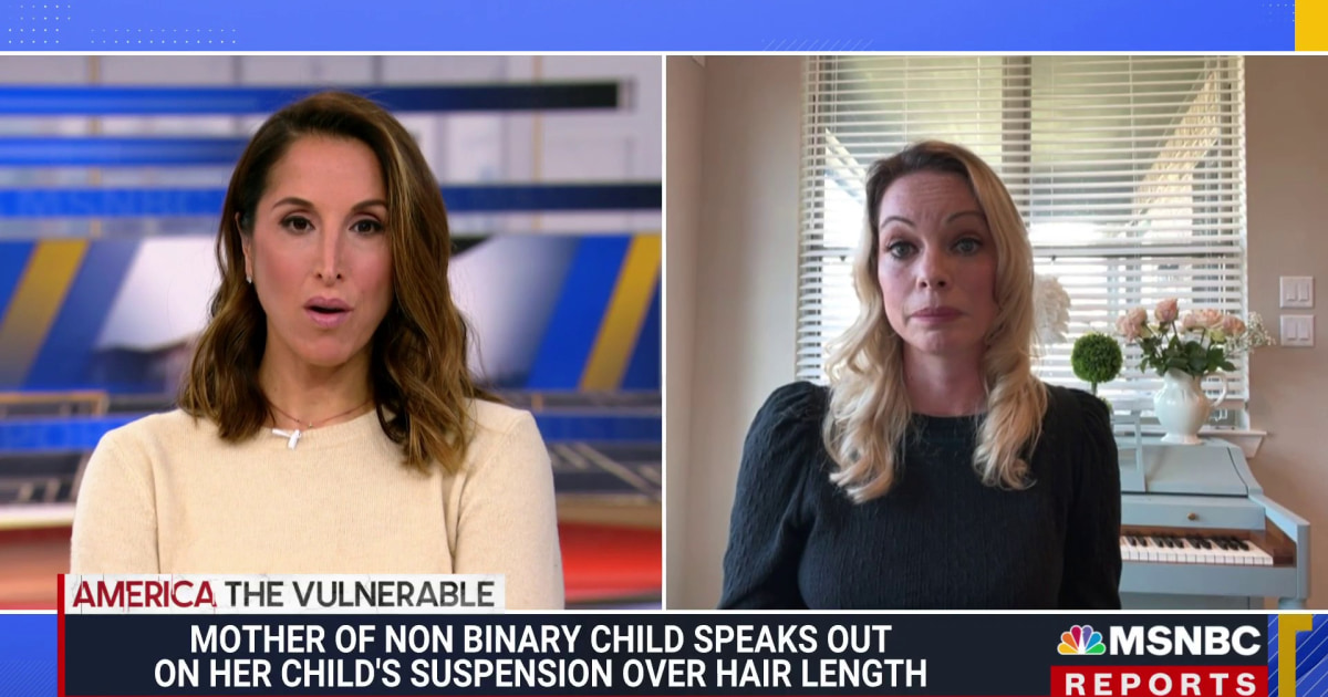 Mother of 11-Year-Old Child Suspended for Hair Length Speaks Out About Their Lawsuit Against Texas School District