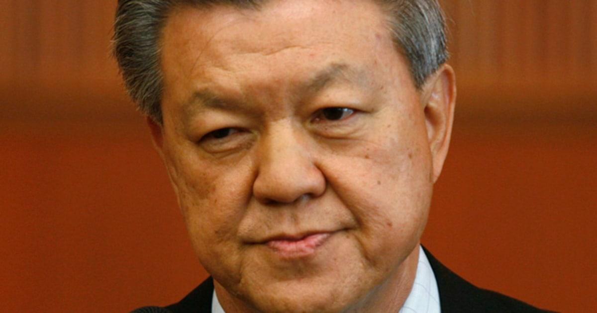 Chua soi lek malaysian health minister sex movie
