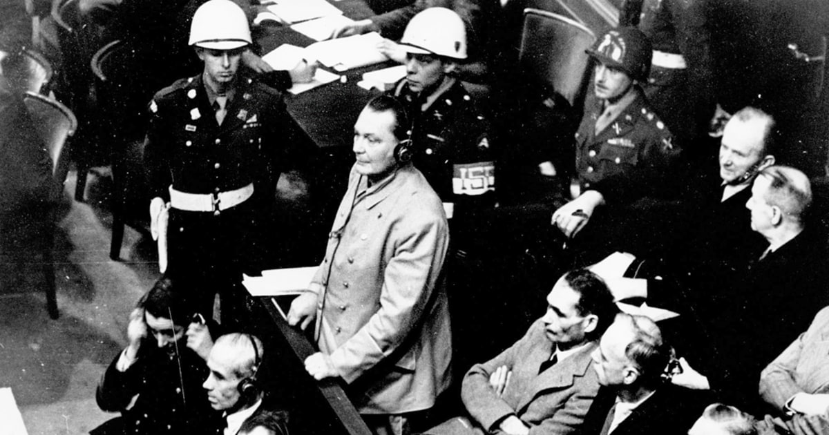 At 60, Nuremberg trials still send a message