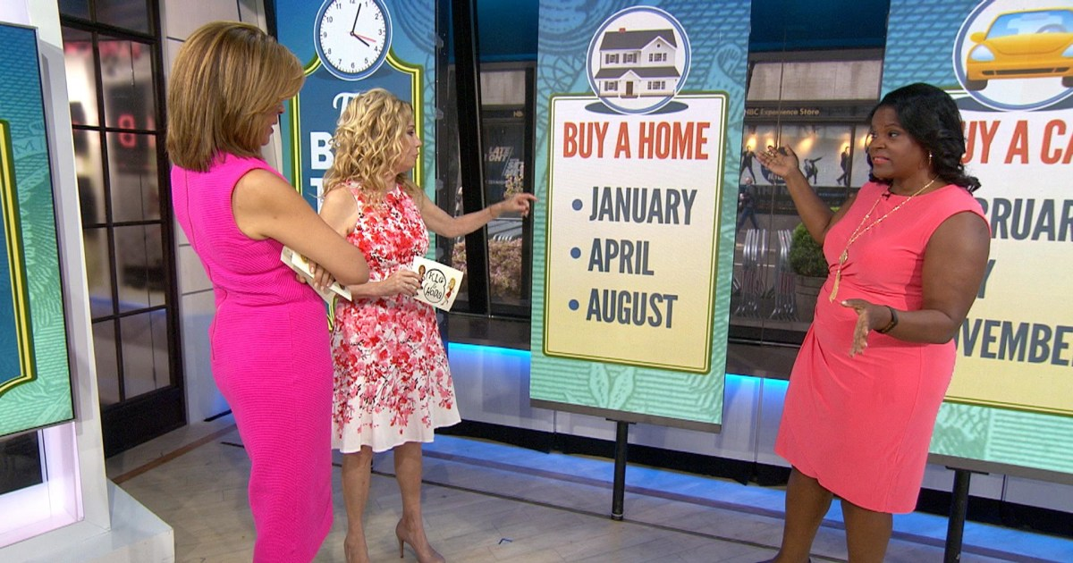 The best month of the year to buy a new home is nbc news for What is the best month to buy a house