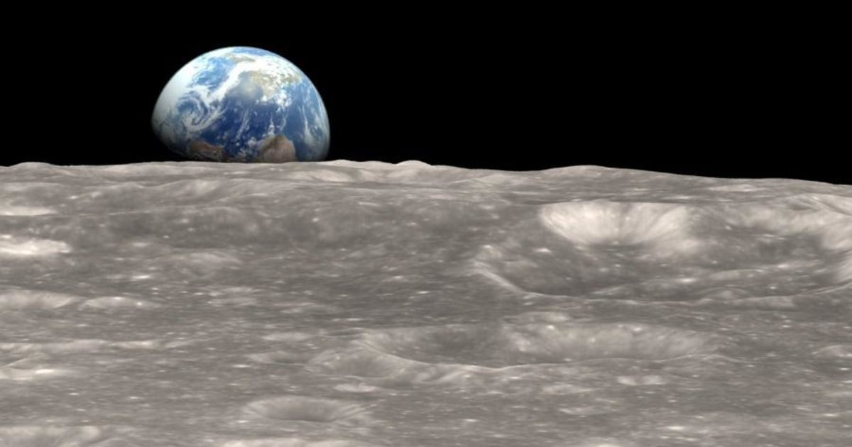 Earthrise Updated 45 Years After Apollo 8