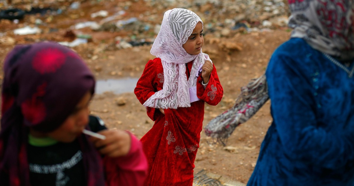 1 million Syrian refugee children gripped by bloodshed