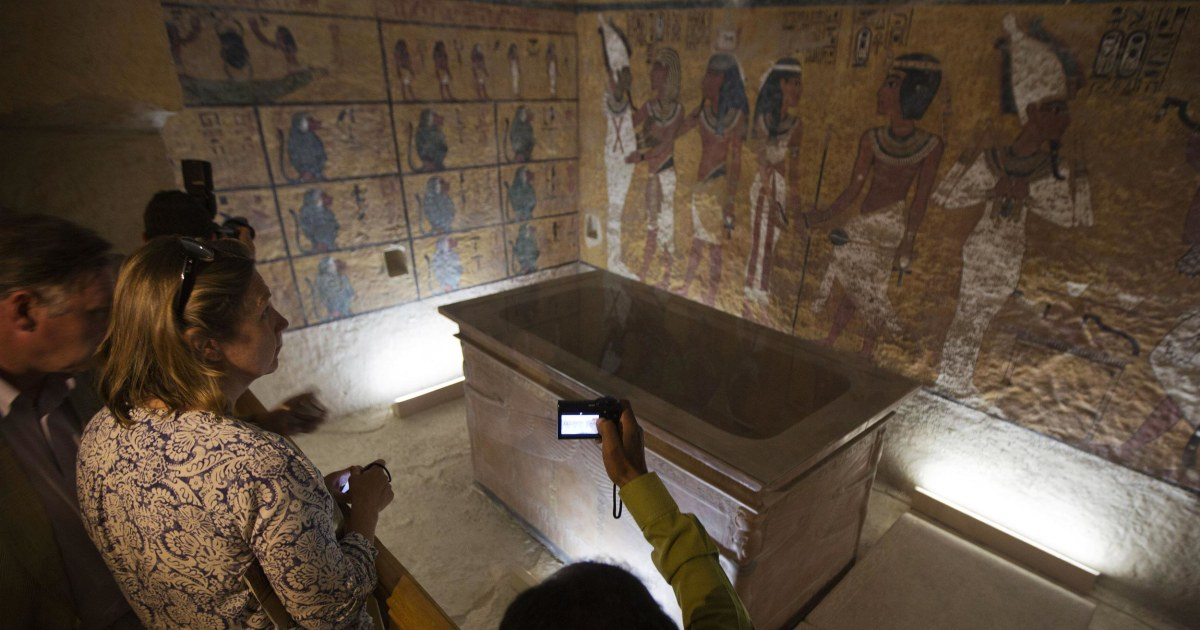 The Curse Of King Tuts Tomb Torrent: King Tut's Doppelganger Tomb: The Only Thing Missing Is