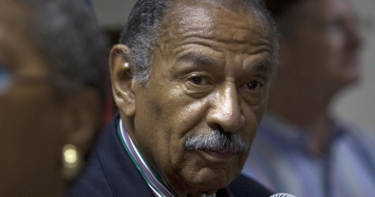 John Conyers Michigan >> Longtime Mich. Congressman Challenged On Ballot Petition - NBC News