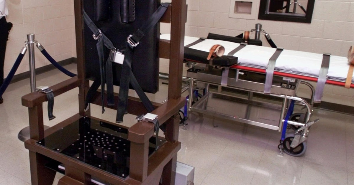 Tennessee Restores Electric Chair As Death Penalty Option