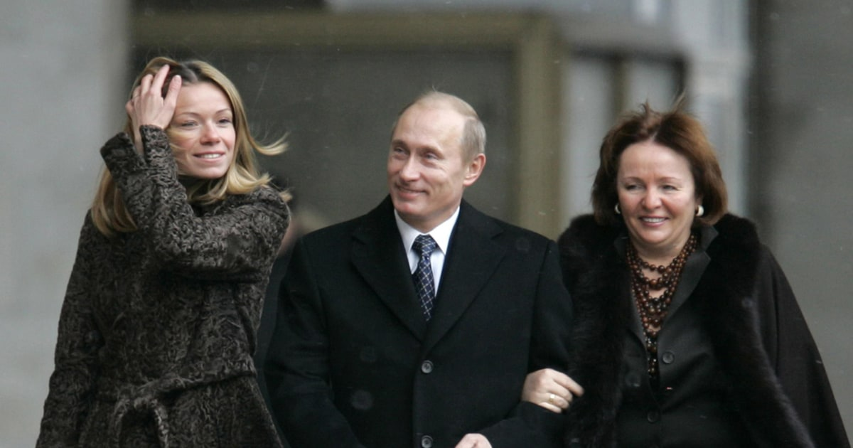 Meet The Putins Inside The Russian Leader S Mysterious Family