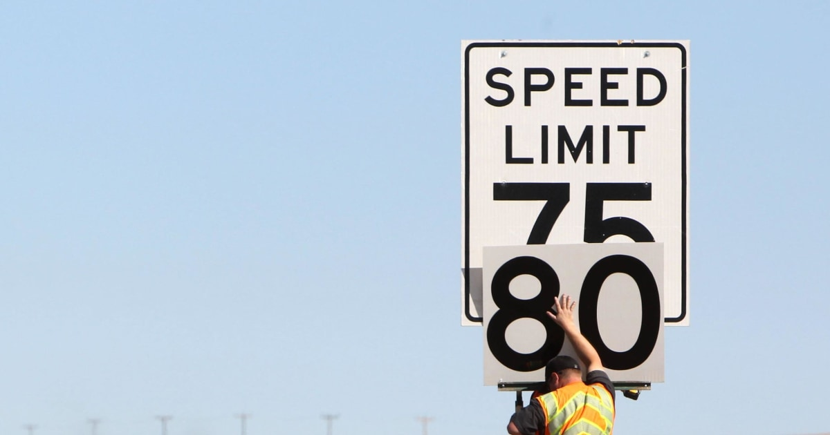 Which States Have The Highest Speed Limits NBC News - Us highway speed limits map
