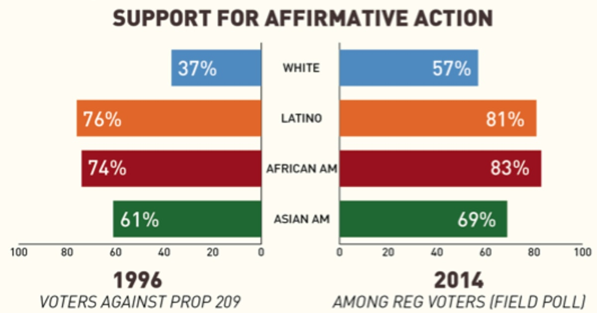 an essay on affirmative action and the american support Essay: affirmative action american blacks affirmative action is an effort to develop a systematic approach to open the doors of education.