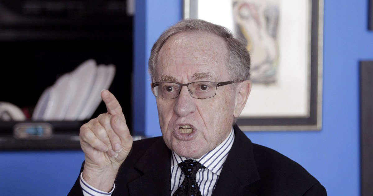 Image result for alan dershowitz