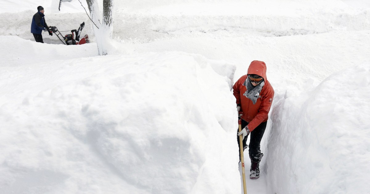 Blizzard Conditions, Winds and Dangerously Low Temps to ...
