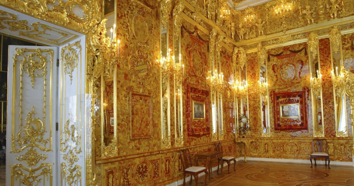 The Lost Amber Room Retirees Dig For Nazi Looted Treasure