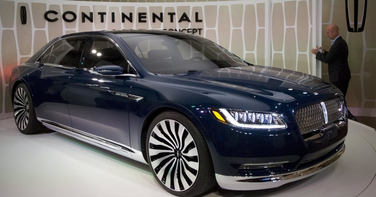 They're Back: Cadillac And Lincoln Unveil New Luxury Sedans