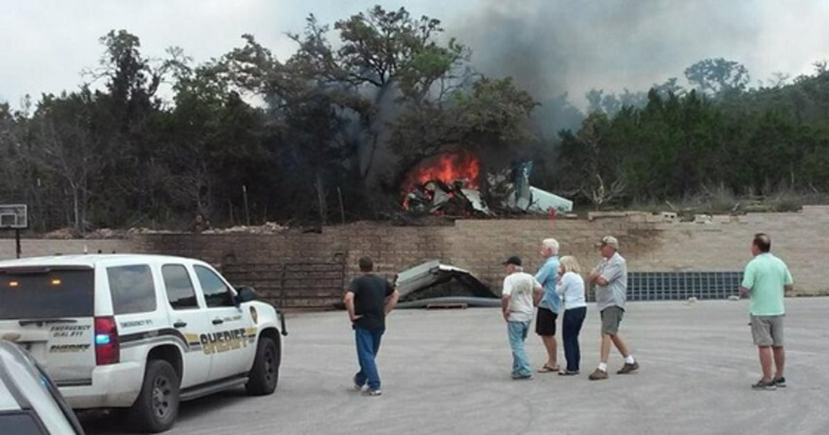 Family Of Four Killed In Small Plane Crash Near San Antonio Texas