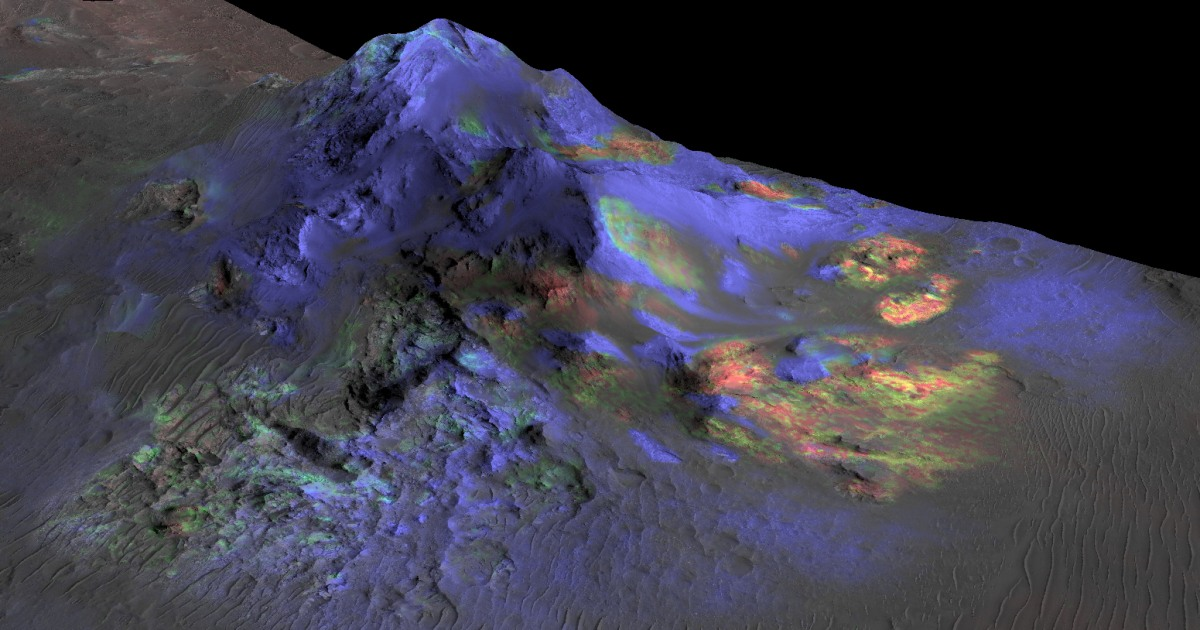 Glass Detected on Mars Could Hold Evidence of Life