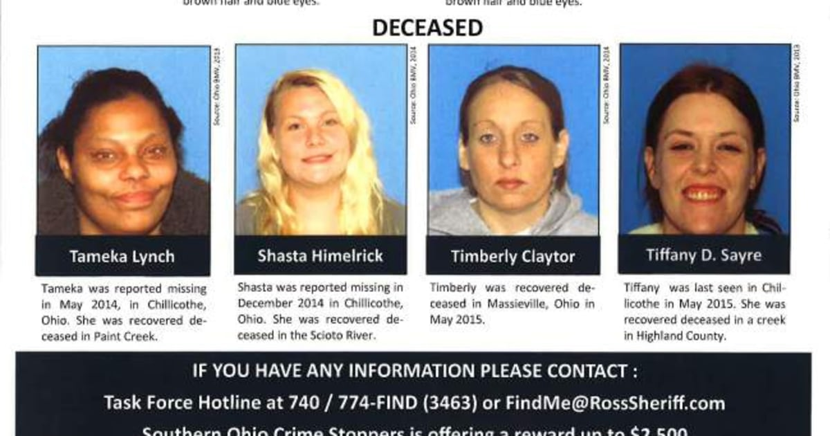 Serial Killer Fears Sparked After Four Women Dead, Two Others Missing in Ohio