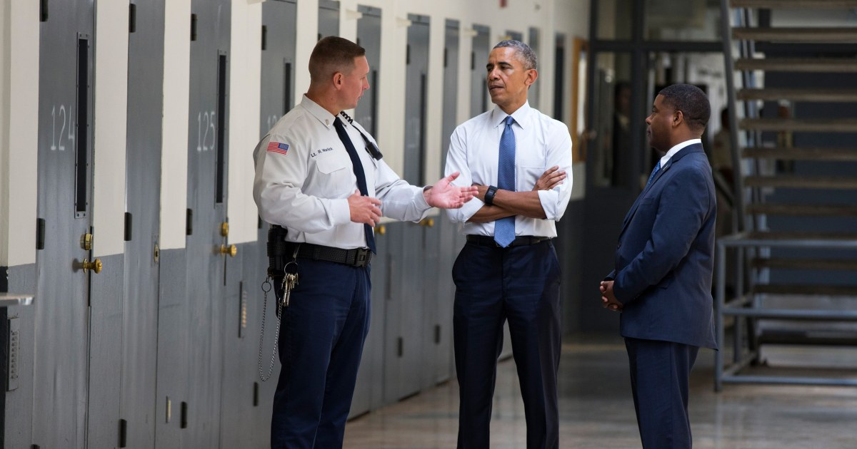 Criminal justice reform the sleeper issue of 2016 nbc news for Bureau of prisons