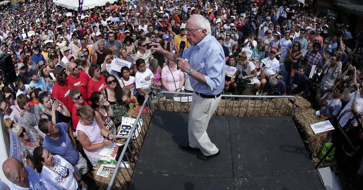 Sanders: My Supporters Aren't 'Registered Dems,' Just ...