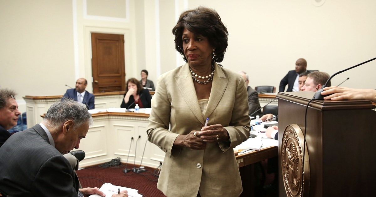 Rep Maxine Waters Walks Back Claim Russia Dossier Is